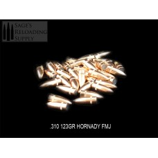.310 123gr Hornady FMJ (100CT)(Bulk Packaged)