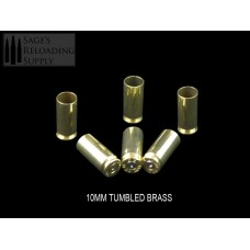 10mm Tumbled Brass (100CT)