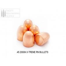 .45 230gr X-Treme RN (500CT)