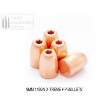 9mm 115gr Xtreme HP (500CT)