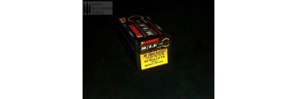 .308 110gr Barnes TAC-TX FB