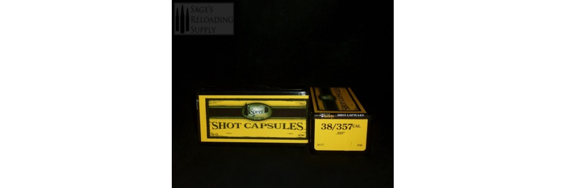 .357/38 Speer Shot Capsules (50CT)
