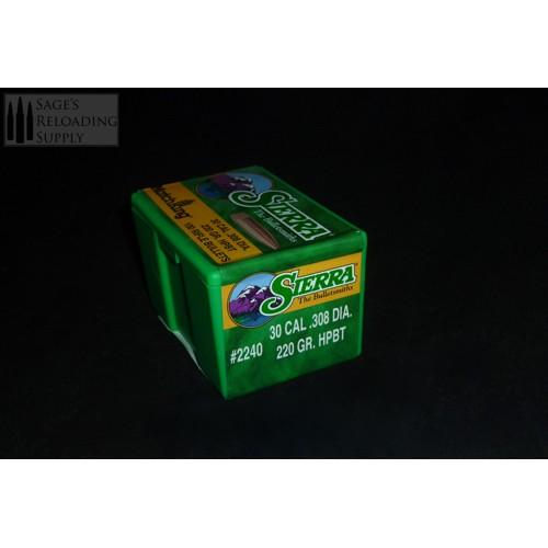 308 220gr Sierra MatchKing HPBT (100CT)