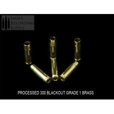 "300 Blackout Processed ""Premium"" Grade Brass (250CT)"
