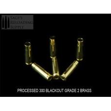 300 Blackout Processed Standard Grade Brass (250CT)