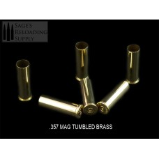 .357 Mag Tumbled Brass (100CT)