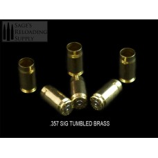 .357 Sig Tumbled Brass (500CT)