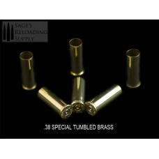 38 Special Tumbled Brass (500CT)