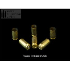.40 S&W Range Brass (500CT)