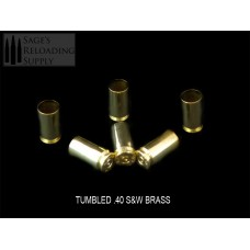 .40 S&W Tumbled Brass (500CT)