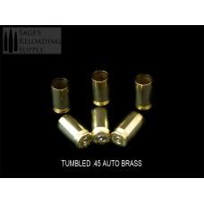 .45 Auto LPP Tumbled Brass (500CT)